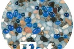 Stone Scapes TOG - Aqua Blue